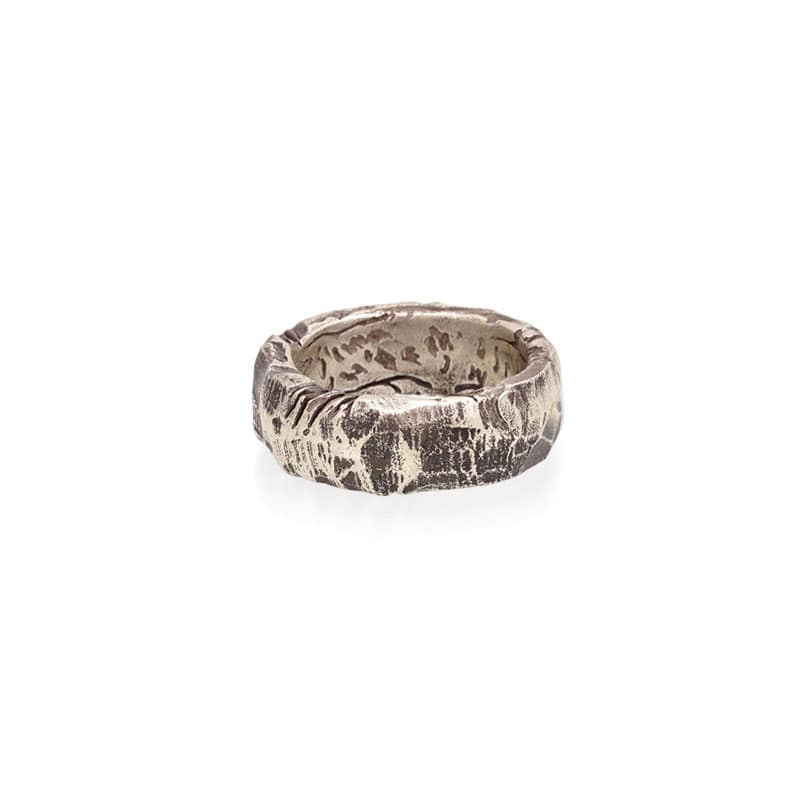 Virgin Stone Rock Ring