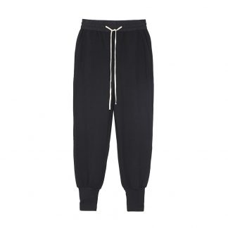 Black Tailor Sweatpants