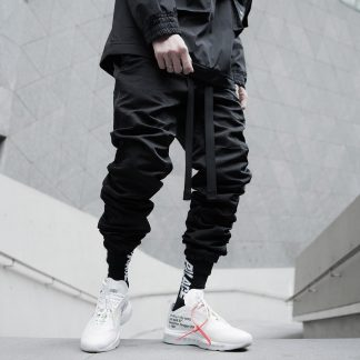 Stacked Techwear Trousers