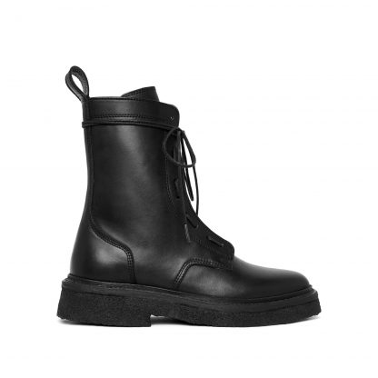 Blank Archive Goodyear welted combat boots