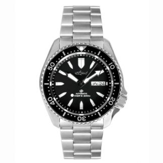 Heimdallr SKX007 Sharkey watch black dial