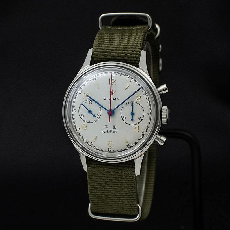 Seagull Chronograph Acrylic Watch