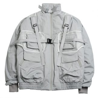 Harsh and Cruel Detachable Bags Down Jacket
