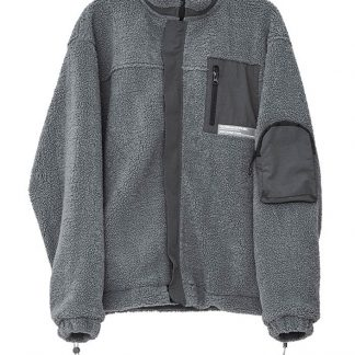 Harsh and Cruel Heavy Sherpa Jacket - Grey