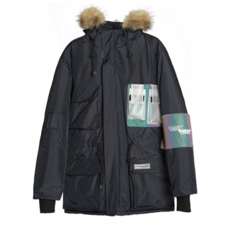 Harsh and Cruel Reflective Parka - Front