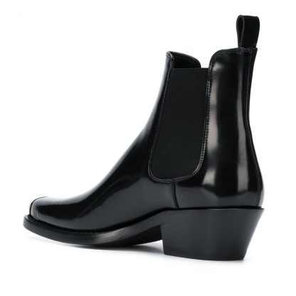Blank Archive Stub Toe Chelsea Boots