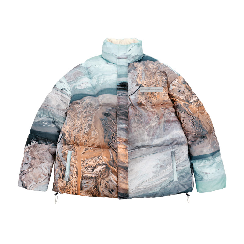 SZSX Digitally Printed Down Jacket