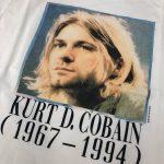 Kurt D Cobain Vintage Band T Shirt