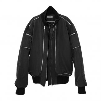 Unknownworld Back Zip Bomber Jacket