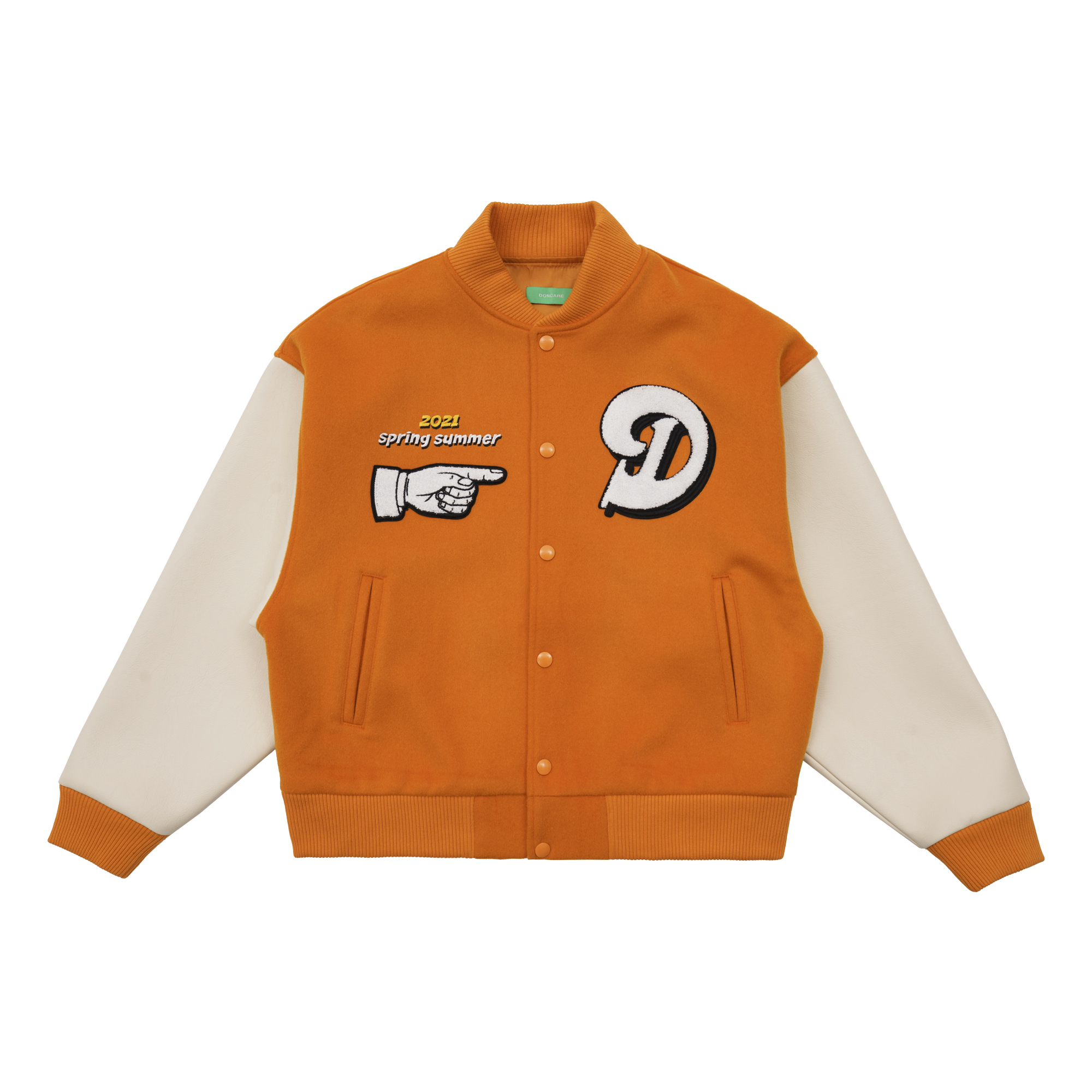 Doncare Legs Prom The Twist Varsity Jacket FFF For Fast Fame Hip Hop Streetwear