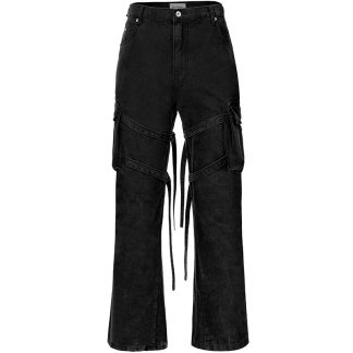 Old Order Strap Bondage Military Streetwear Cargo Pants
