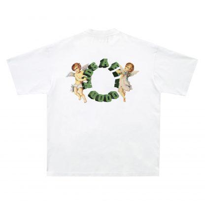 A Few Good Kids - AFGK - Hip Hop - Streetwear T-shirt Cherub Logo White