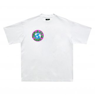 A Few Good Kids Globe Logo Tshirt Hip Hop Rap Streetwear