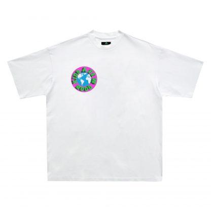 A Few Good Kids Globe Logo Tshirt Hip Hop Rap Streetwear