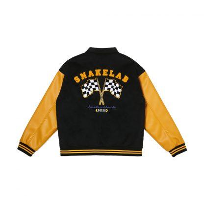 Antidote Streetwear Varsity Snakelab Racing Jacket