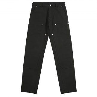Boneless Streetwear Tooling Carpenter Pants in Black