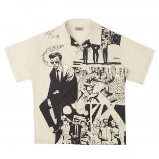 Empty Reference Comic Book Retro Print Streetwear Cuban Shirt