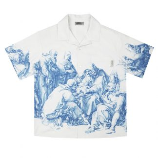 Empty Reference Streetwear Cuban Shirt Renaissance Classic Painting Graphic