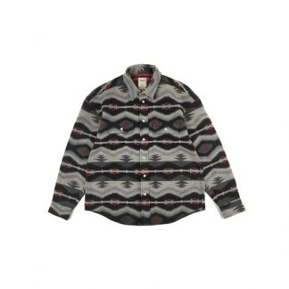 Son of Loong Japanese Streetwear Wool Flannel Ethnic Weave shirt Pendleton