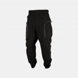 Nosucism NS-28 Pants Mens Menswear Techwear Trousers Bottoms Black Darkwear Multipocket