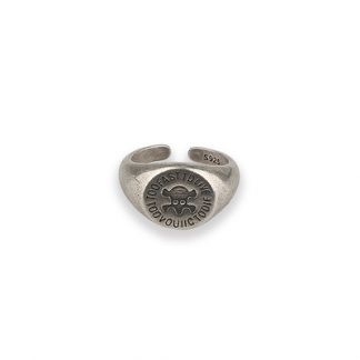 Masked Foxes Too Fast to Live Streetwear Mens Jewellery Ring