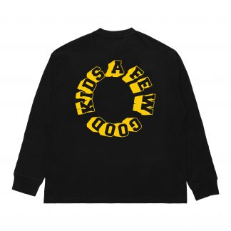 A Few Good Kids Black and Gold Long Sleeved T-Shirt Streetwear