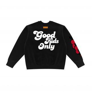 A Few Good Kids Crewneck Sweater Good Kids Only Streetwear Black