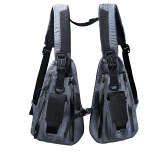 Reindee Lusion Techwear Tactical Chest Rig Bag in Grey